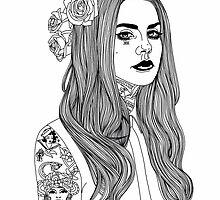 Lana Banana #2 by hellviticus