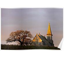 St Andrews Church, Blubberhouses Poster