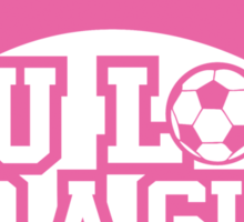 Women's soccer T-shirt Sticker