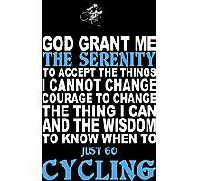 Cycling Funny Tshirts Photographic Print