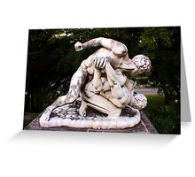 Marble Brawl Greeting Card