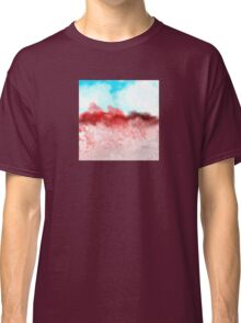 Blue Sky and Red Landscape Classic T-Shirt