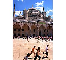 Sultan Ahmed Mosque - Istanbul Photographic Print