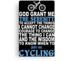 Funny Cycling Tshirts, Mobile Covers and Posters Canvas Print