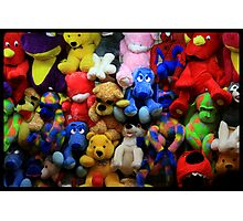 The Great Wall of Softies...... Photographic Print