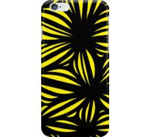 Hibler Abstract Expression Yellow Black iPhone Case/Skin