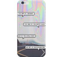 5SOS Disconnected Lyrics Hologram Case iPhone Case/Skin