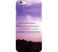 Halsey Colors Lyric Phone Case iPhone Case/Skin