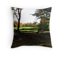 Country Quaint Throw Pillow