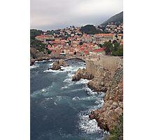 Bokar Fortress, Dubrovnik, Croatia Photographic Print