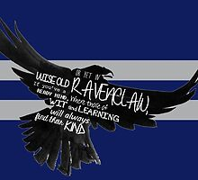 Ravenclaw - Harry Potter (varrying texts) by SClarkeArt
