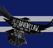 Ravenclaw - Harry Potter (single text) by SClarkeArt