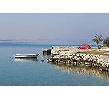 small red car, Starigrad Paklenica , Croatia Photographic Print