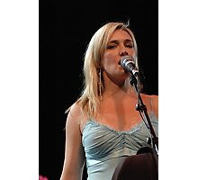 backing vocalist  Photographic Print