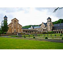 Abbey Notre-Dame d'Orval - Belgium Photographic Print