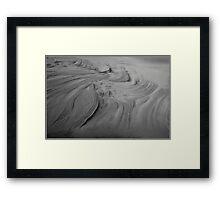 Sandy Lines Framed Print