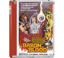 Baron Blood (Red) iPad Case/Skin