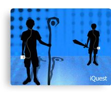 iQuest Canvas Print