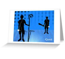 iQuest Greeting Card