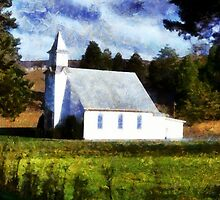 Church In The Valley by James Brotherton
