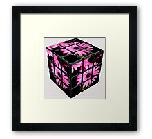 The Cube Framed Print