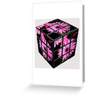 The Cube Greeting Card