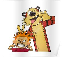 Calvin and Hobbes Duo Poster