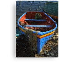 The Old Poster Canvas Print