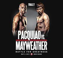 Pacquiao vs Mayweather, Finally Unisex T-Shirt