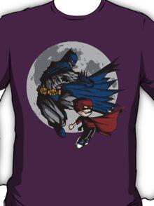 Batman and Calvin Hobbes T-Shirt