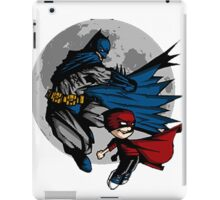 Batman and Calvin Hobbes iPad Case/Skin