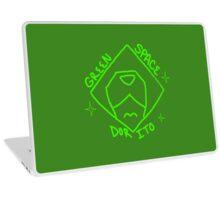 Green Space Dorito Laptop Skin