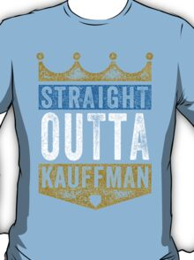 Straight Outta Kauffman (color) T-Shirt