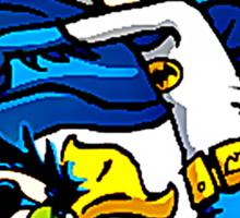 Calvin and Hobbes Batman Robin Style Sticker