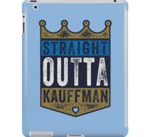 Straight Outta Kauffman (alt color) iPad Case/Skin
