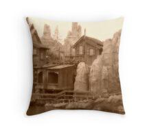Big Thunder Mesa Throw Pillow
