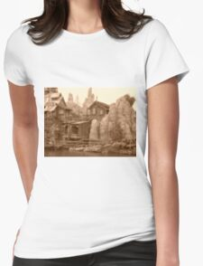 Big Thunder Mesa Womens Fitted T-Shirt