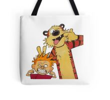 Calvin and Hobbes Duo Tote Bag