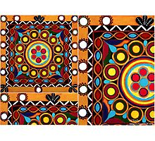 """""""Kutch Tapestry"""" -  Fabrics N' Flavors Of The World Collection Photographic Print"""