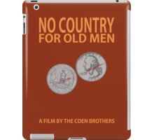 No Country For Old Men Minimalist Design iPad Case/Skin