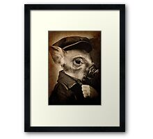 Little Man Framed Print