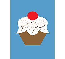 Chocolate Sprinkles Cupcake Photographic Print