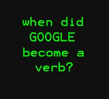Google Verb Womens Fitted T-Shirt