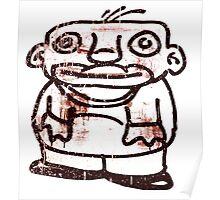 Stobie the aerosol art character Poster