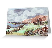 A painted landscape Greeting Card