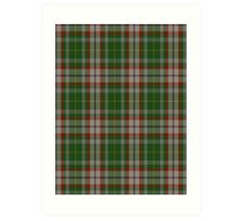 00112 Fredericton District Tartan  Art Print