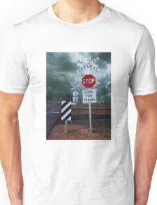 Railway Crossing Unisex T-Shirt