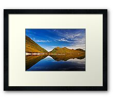 Lake Plimsoll Reflections Framed Print