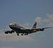 'Big Bird' British Airways by Matt Rattray