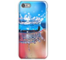waterdrop crown iPhone Case/Skin